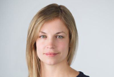 Photo of Dr. Sarah Lageson receives NIJ's New Investigator/Early Career Award