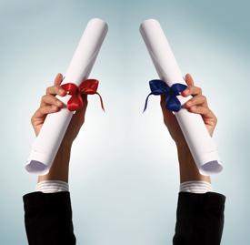 Failsafe Option to Obtain a Dual Degree